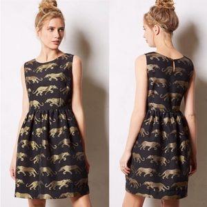 Anthropologie Eyedoll Panthere Dress - Size 4